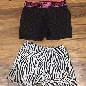 Dance Booty Shorts Girls sz XL 14